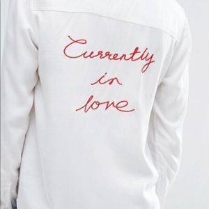 Current Air Currently in Love Shirt size s